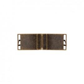 Boucle ceinture métal Georges - doré foncé