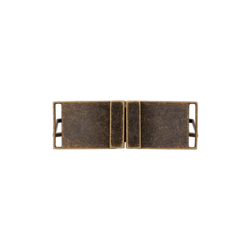 Boucle ceinture métal Georges - doré foncé 4c305699e0e