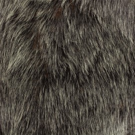 High quality fur Abramo - anthracite/rust x 10cm