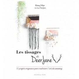 """Book """"Les tissages de DeerJane : 15 projets originaux pour maîtriser l'art du wearing"""""""