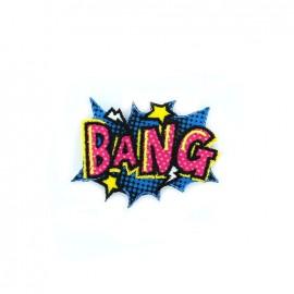 Comic Strip iron-on patch - bang