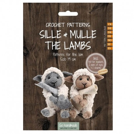 Crochet pattern Sille & Mulle - The Lambs
