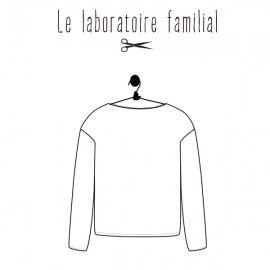 Sewing pattern Le laboratoire familial sweater - Hyphigénie