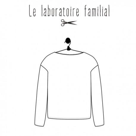 Sewing pattern Le laboratoire familial sweater - Hyphigénie
