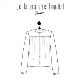 Sewing pattern Le laboratoire familial blouse - Jane