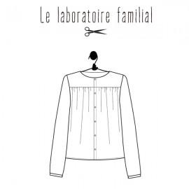 Sewing pattern Le laboratoire familial blouse - Jane