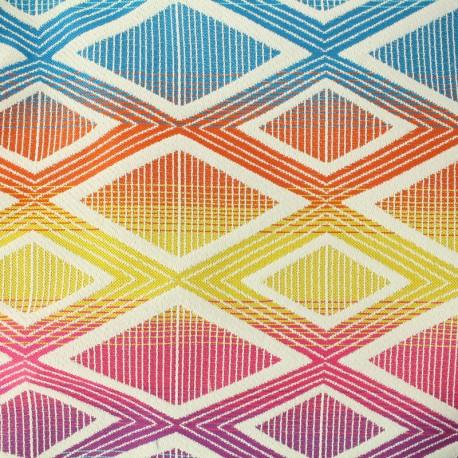 Woven jacquard Yoga - multicolor x 27cm