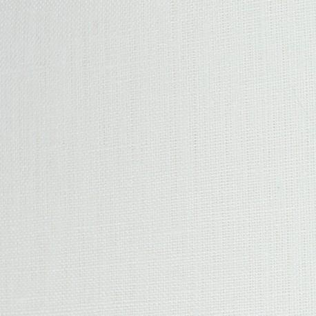 Lino Linen Fabric - White x 10cm