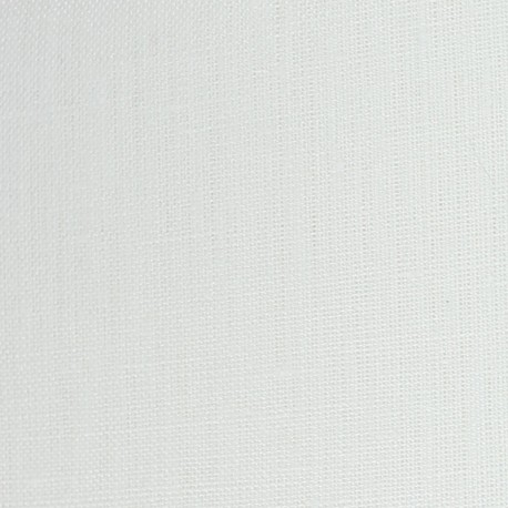 Tissu Drap lino - blanc optique x 10cm