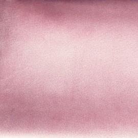 Brunei velvet fabric - powded pink x 10cm