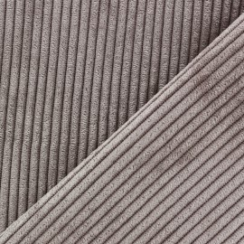 Lisboa corduroy fabric - brown x 10cm