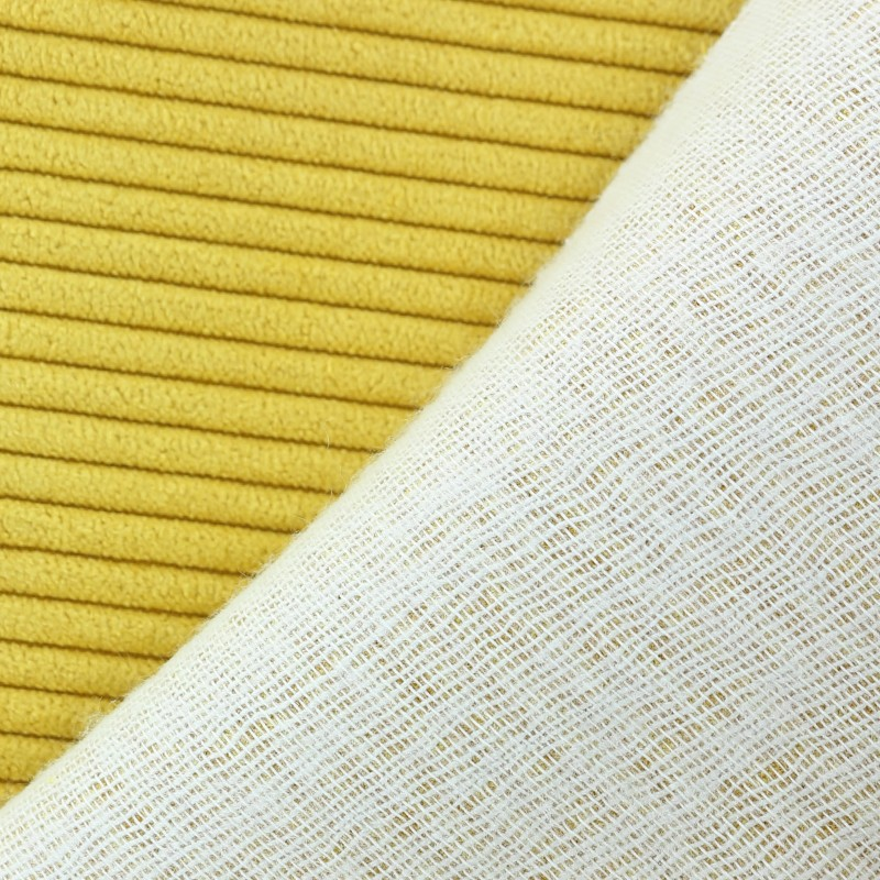 Lisboa corduroy fabric mustard x 10cm for Corduroy fabric
