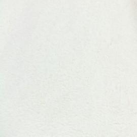 Tissu fourrure Ourson - chantilly x 10cm