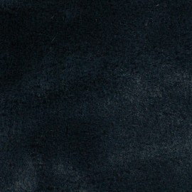 Tissu fourrure Ourson - bleu nuit x 10cm