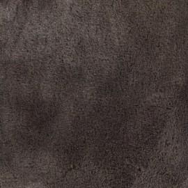 Tissu fourrure Ourson - marron x 10cm