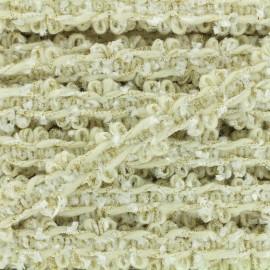Party lurex braided ribbon - white x 1m