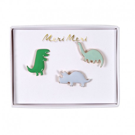 Meri meri lapel pin dino for Decoration maison 97400