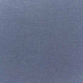 Douceur Modal jersey fabric - storm x 10cm