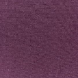 Tissu jersey Modal Douceur - bordeaux x 10cm