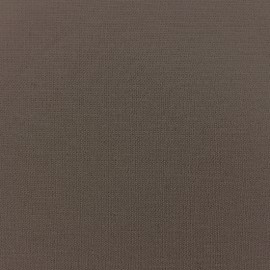 Tissu jersey Modal Douceur - marron x 10cm