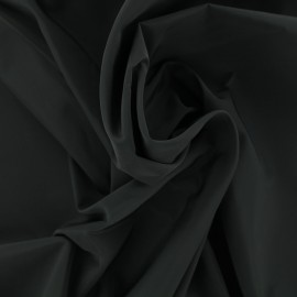 Angela polyester fabric - black x 10cm