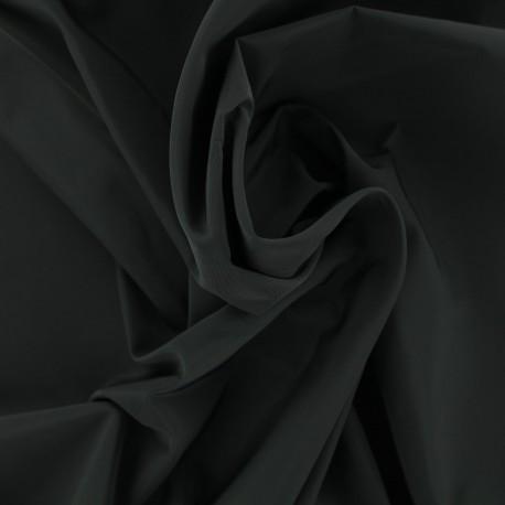 Tissu toile parachute Angela - noir x 10cm