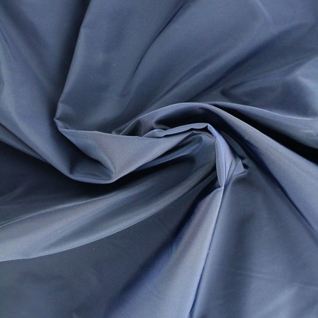 Angela polyester fabric - denim blue x 10cm
