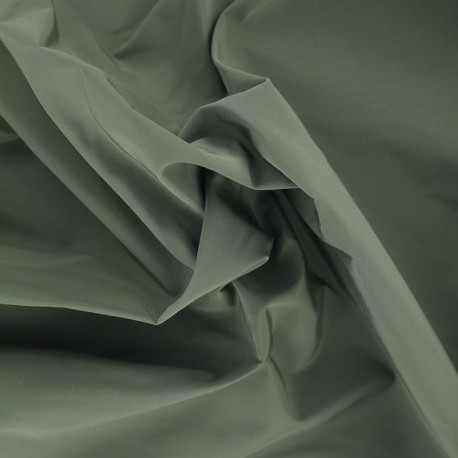 Angela polyester fabric - khaki x 10cm