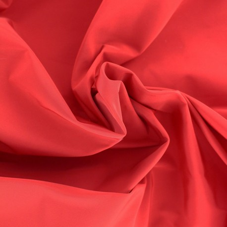 Angela polyester fabric - red x 10cm