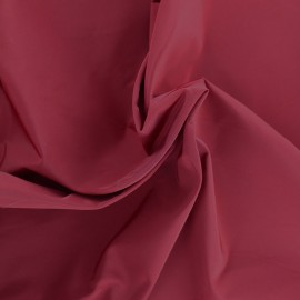 Angela polyester fabric - burgundy x 10cm