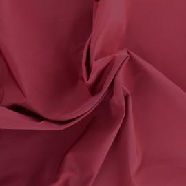 Tissu toile parachute Angela - bordeaux x 10cm