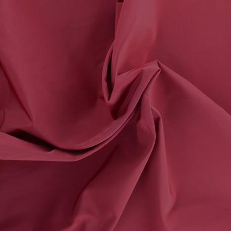 Angela polyester fabric - burgundy x 10cm