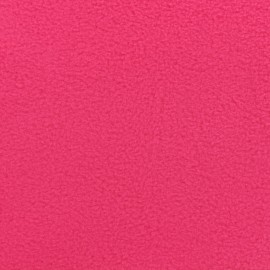 Nano-tex Water-repellent Softshell fabric neon - pink x 10cm