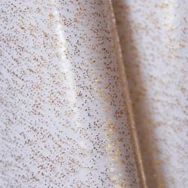 Tissu Cristal paillettes dorées
