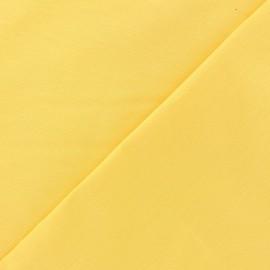 Tissu Oeko-Tex coton uni Reverie grande largeur (280 cm) jaune soleil x 10cm