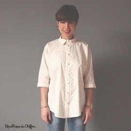 Sewing pattern République du Chiffon Blouse - Myrcella