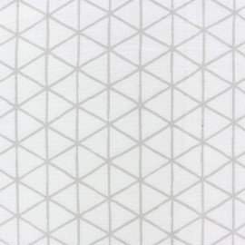 Tissu coton Rico Design Big Pattern - losanges x 10cm