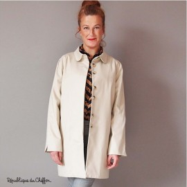 Sewing pattern République du Chiffon Trench - Roger