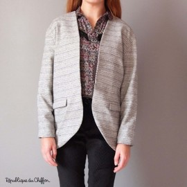 Sewing pattern République du Chiffon Jacket - Gisèle