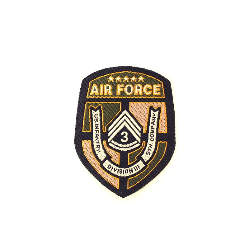 Thermocollant air force blason for Air force decoration guide