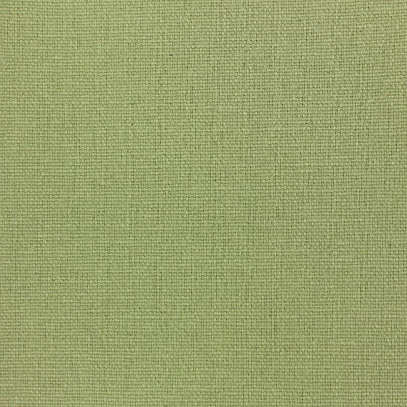 tissu toile de coton uni demi natt vintage vert clair. Black Bedroom Furniture Sets. Home Design Ideas