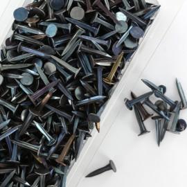 Semence pour tapisserie Simple blue 14mm (lot de 400g) - acier bleu
