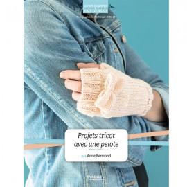 """Book """"Projets tricot avec une pelote"""""""