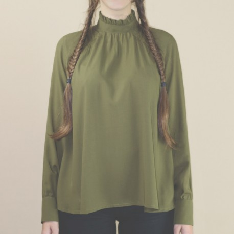 Sewing pattern République du Chiffon Blouse - Elisabeth
