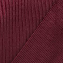 Tissu velours côtelé - bordeaux x10cm