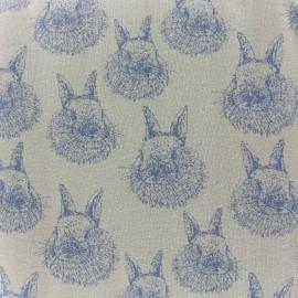 Lapinou Organic Oeko-Tex Jersey fabric - sand  x 10cm
