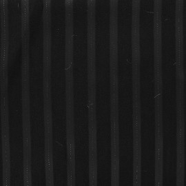 Times Tailor's Striped Fabric - Black x 10cm
