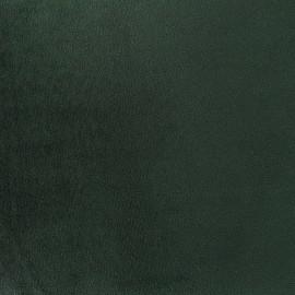 Tissu velours Brunei - vert impérial x 10cm