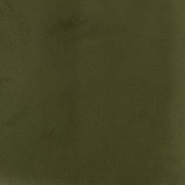 Brunei velvet fabric - dark green x 10cm