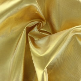 Satin Lamé Fabric - gold x 10cm